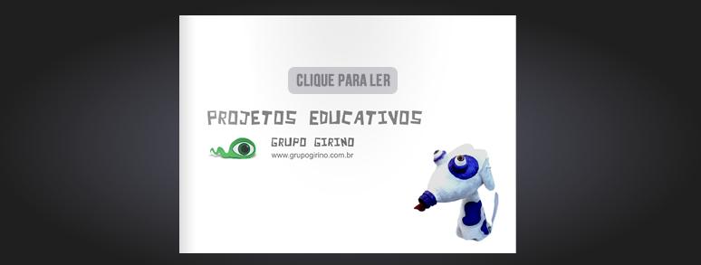 catálogo de oficinas e projetos educaticos _ grupo girino teatro de bonecos e animação