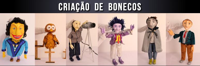Criação de bonecos _ Grupo Girino Teatro de Bonecos e Animação
