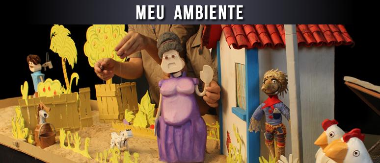 Espetáculo Meu Ambiente _ Grupo Girino Teatro de Bonecos e Animação