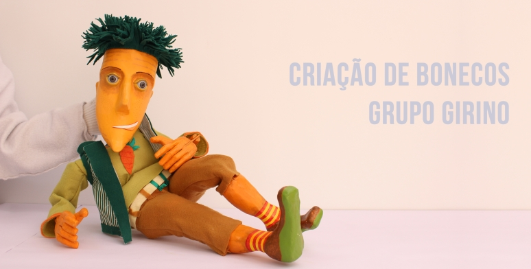 criação de bonecos _ grupo girino teatro de bonecos e teatro de animação
