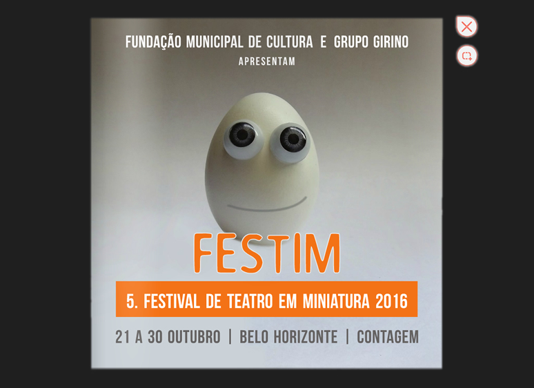 FESTIM _ FESTIVAL DE TEATRO EM MINIATURA 2016