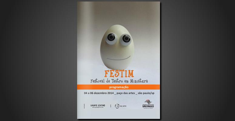 FESTIM Programação _ Festival de Teatro em Miniatura 2014
