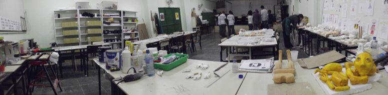 oficina de construçao de boneco e montagem de espetaculo de teatro de animaçao