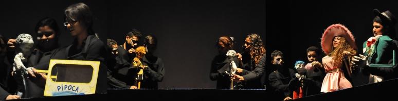 Oficina de construção de bonecos e montagem de espetaculo de teatro de animaçao projeto tecnico