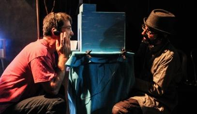 Mini Teatro de Sombras _ Foto Hugo Huax