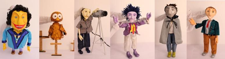 cração de bonecos _ grupo girino teatro de animação _ teatro de bonecos _ manipulação direta _
