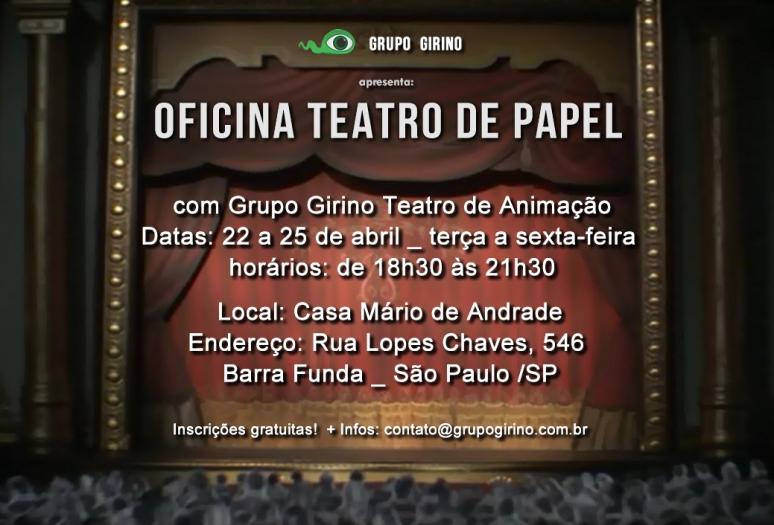 oficina teatro de papel _ grupo girino teatro de animação _ são paulo_2014