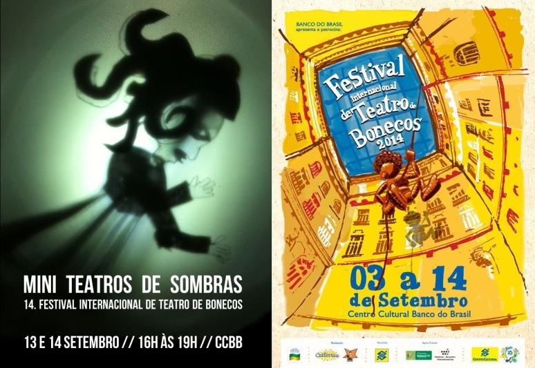 2014 mini teatro de sombras _ festival teatro bonecos bh