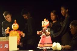 Oficina Teatro de Bonecos e Animação _ Xerém RJ 2014