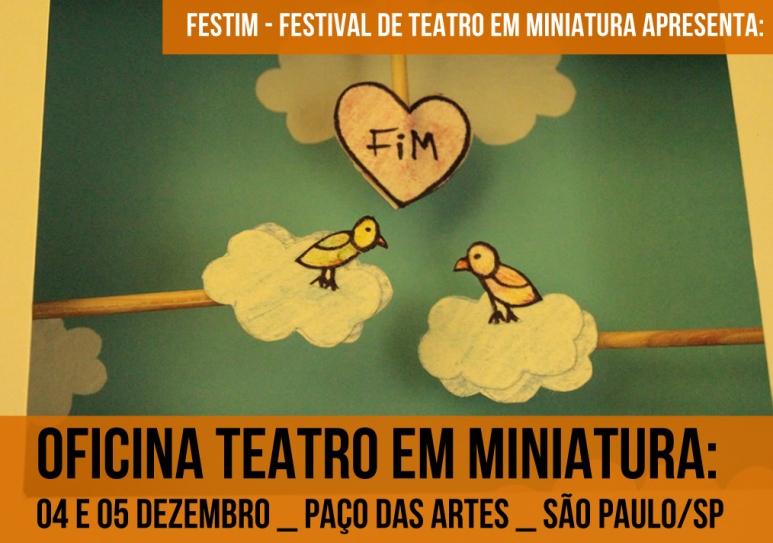 oficina teatro em miniatura _ festim 2014 _ grupo girino teatro de animação___