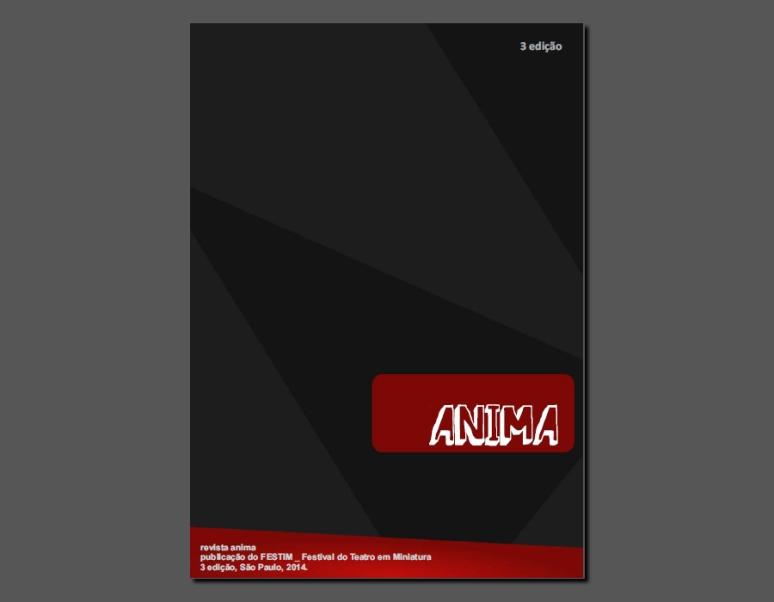 FESTIM _ Festival de Teatro em Miniatura _ Revista Anima 3 edição
