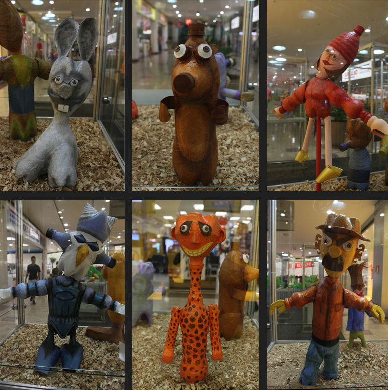 Exposição de EcoBonecos _ Grupo Girino Teatro de Bonecos e Animação