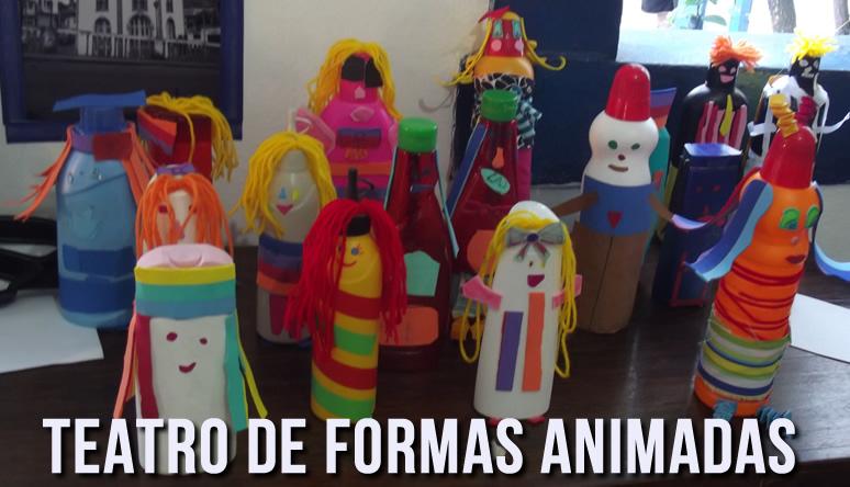 Oficina Formas Animadas _ Grupo Girino Teatro de Animação