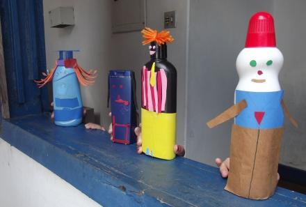Oficina Teatro de Formas Animadas _ Grupo Girino Teatro de Animação