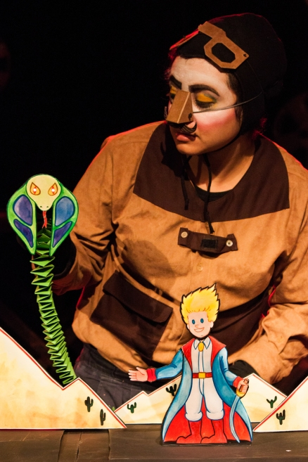 O Pequeno Príncipe de Papel _ Grupo Girino Teatro de Bonecos e Animação _ Foto Hugo Honorato