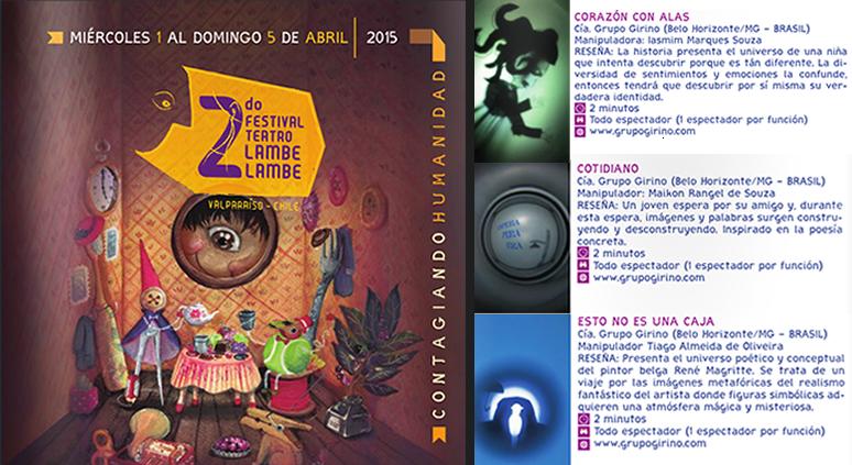 festival teatro lambe lambe valparaiso chile