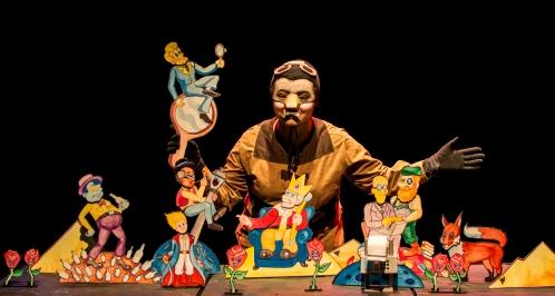 O Pequeno Príncipe de Papel _ Grupo Girino Teatro de Bonecos e Animação _ Foto Pedro Faria