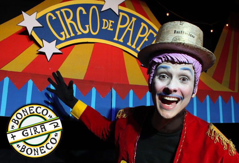 o fantastico circo de papel _ grupo girino teatro de bonecos _ festival gira boneco _ bauru sao paulo