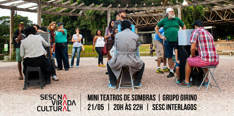 mini teatros de sombras _ grupo girino _ virada cultural sp _ sesc interlagos