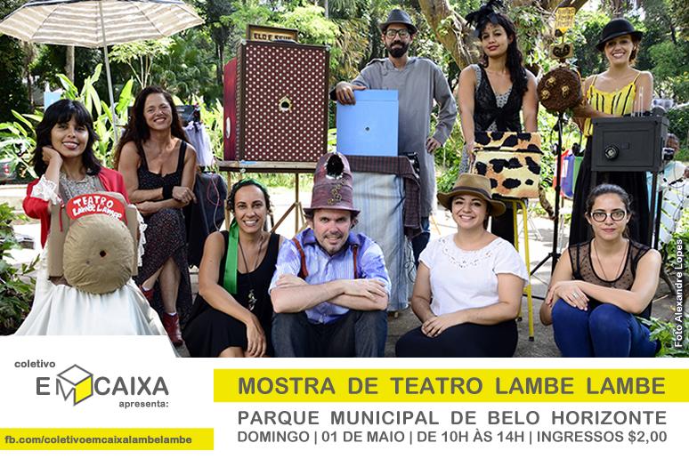 Mostra de Teatro Lambe Lambe _ Coletivo Em Caixa