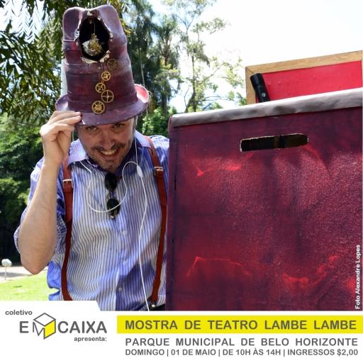 Coletivo EmCaixa _ Mostra de Teatro Lambe Lambe _ Foto Alexandre Lopes