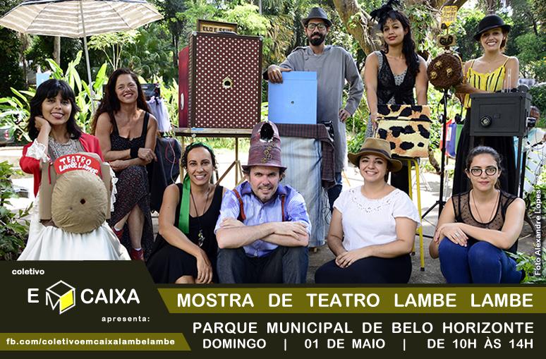 mostra de teatro lambe lambe _ coletivo emcaixa teatro de bonecos