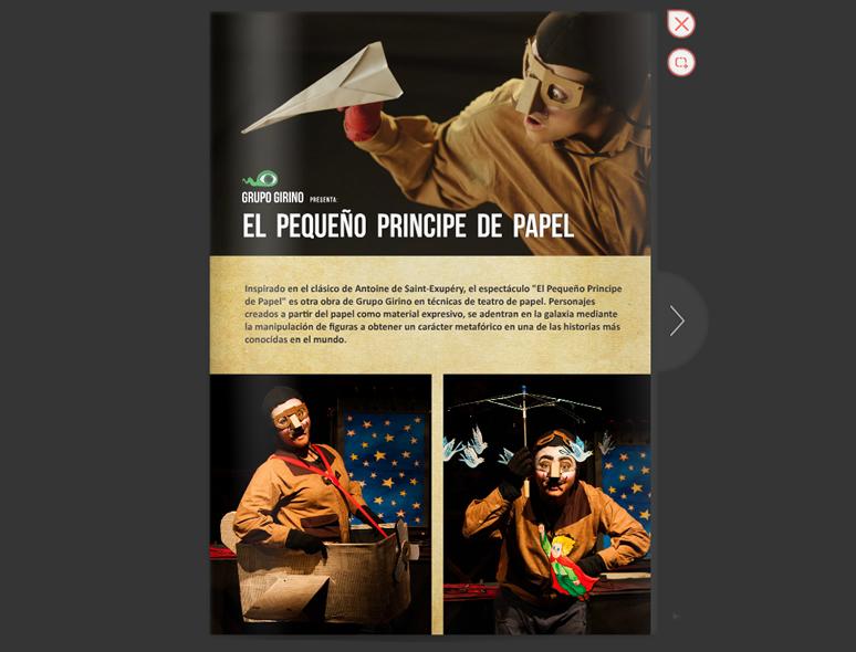 EL PEQUEÑO PRINCIPE DE PAPEL _ PRINCIPITO _ GRUPO GIRINO _