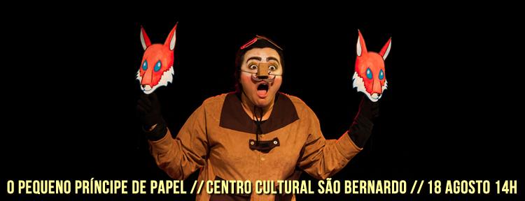 Espetáculo O Pequeno Príncipe de Papel _ Grupo Girino _ Teatro de Papel no Centro Cultural Sao Bernado