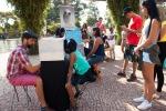 FEFESTIM 2015 _ Festival de Teatro em Miniatura _ Mini Teatros de Sombras Grupo Girino _ Foto Hugo Honorato