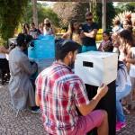 FESTIM 2015 _ Festival de Teatro em Miniatura _ Mini Teatros de Sombras Grupo Girino _ Foto Hugo Honorato