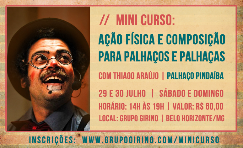 mini curso palhaço pindaiba _ thiago araujo