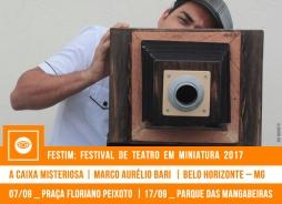 FESTIM 2017 // A CAIXA MISTERIOSA - MARCO AURÉLIO BARI