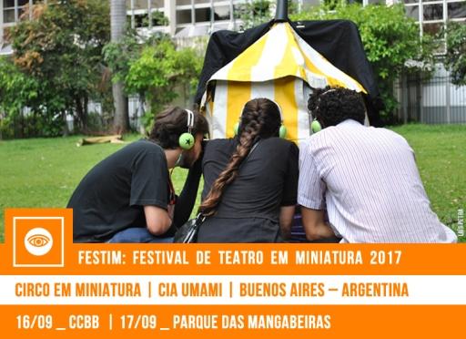 FESTIM 2017 // CIRCO EM MINIATURA - CIA UMAMI