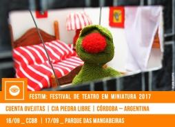 FESTIM 2017 // CUENTA OVEJITAS - CIA PIEDRA LIBRE