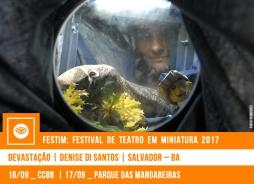 FESTIM 2017 // DEVASTAÇÃO - DENISE DI SANTOS