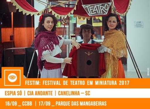 FESTIM 2017 // ESPIA SÓ - CIA ANDANTE