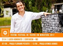 FESTIM 2017 // 3 x 4 - LUCIO HONORATO