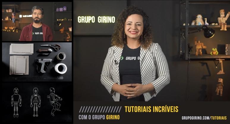TUTORIAIS INCRIVEIS COM O GRUPO GIRINO